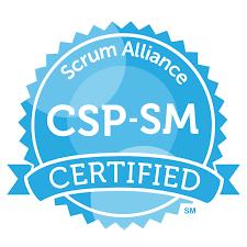 Csp sm scrumalliance badge