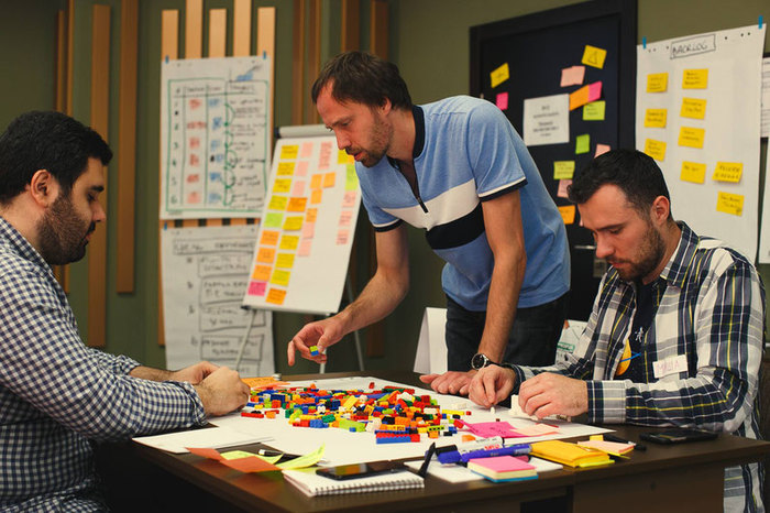Scrum Overview with LEGO Simulation